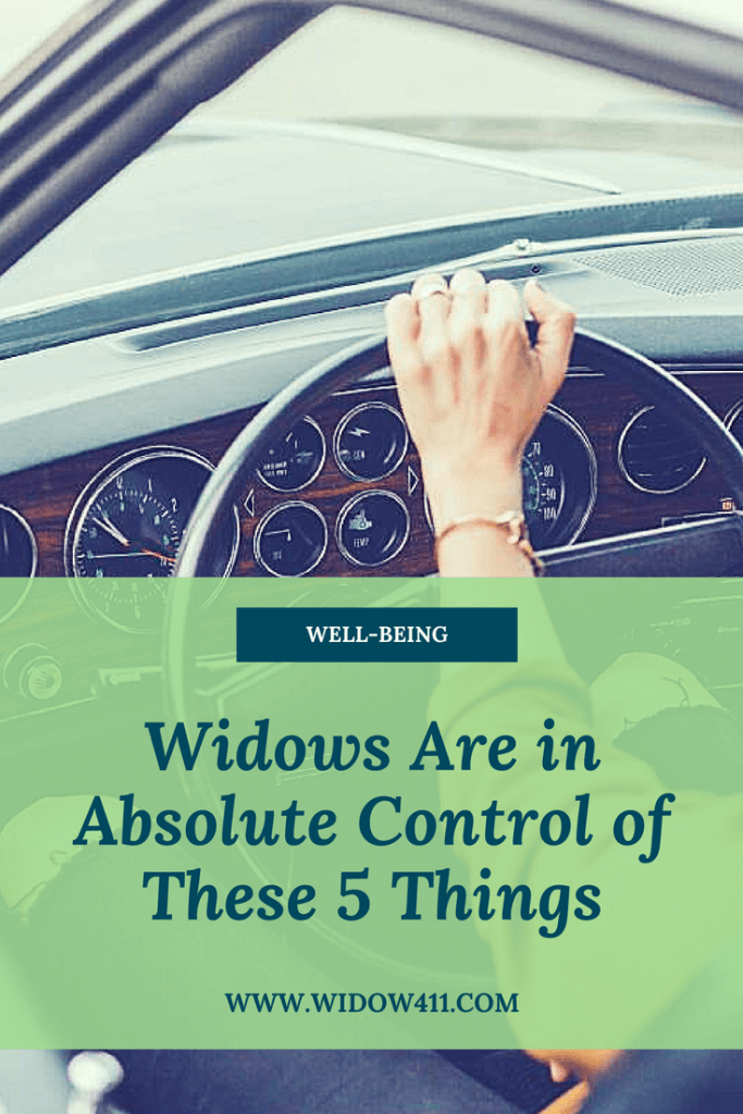 Widows Are In Control of These 5 Things