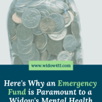 Emergency Fund for Widows