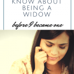 What I Didn't Know About Being a Widow