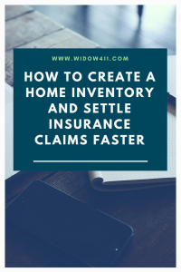 Create a Home Inventory