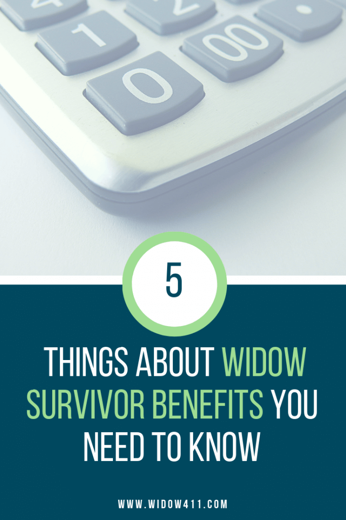 Top 5 Things to Know About Widow Survivor Benefits