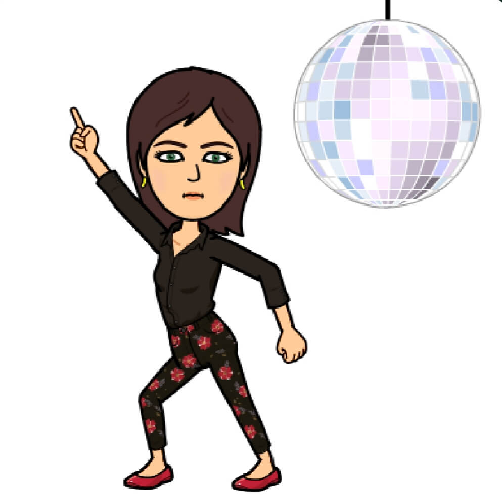 Dancing by Disco Ball