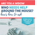 How Widows Can Ask for Help