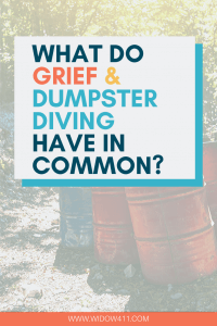 Grief and Trash Picking