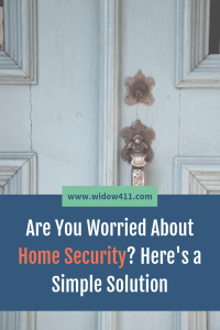 Simple Home Security System