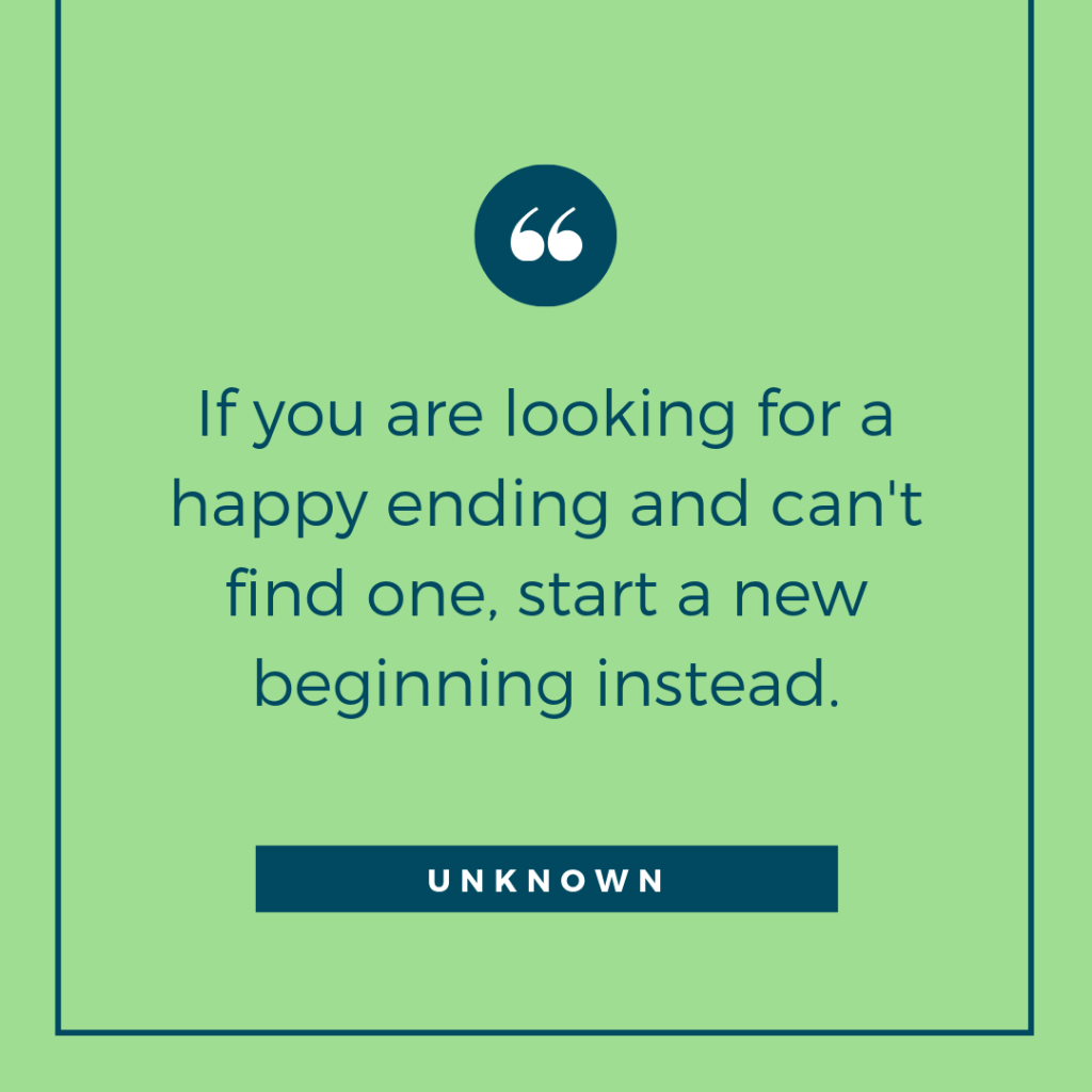 Happy ending quote for widows
