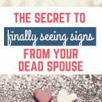 Signs from your dead spouse pin for pinterest
