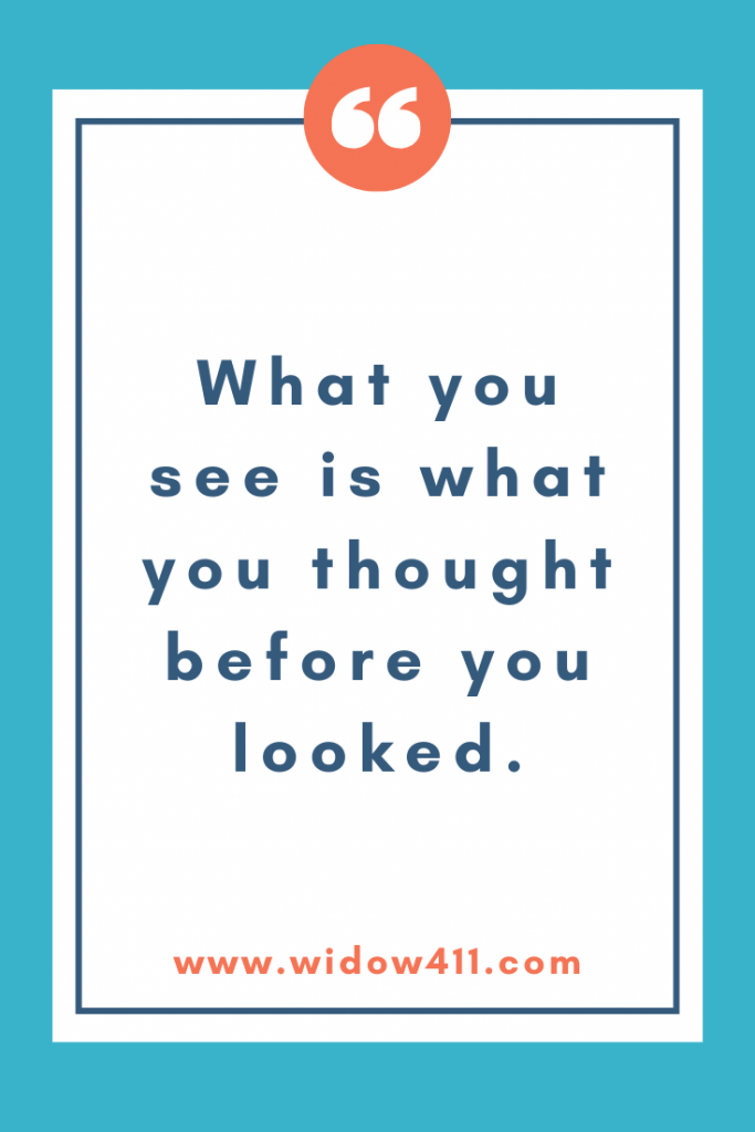 What you see quote