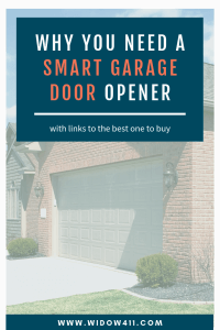 Why Widows Need a Smart Garage Door Opener